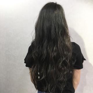 アッシュ 透明感 ナチュラル 外国人風カラー ヘアスタイルや髪型の写真・画像
