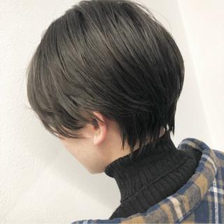 ショートボブ ショートヘア ベリーショート モード ヘアスタイルや髪型の写真・画像