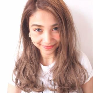 愛され 外国人風 グラデーションカラー ナチュラル ヘアスタイルや髪型の写真・画像