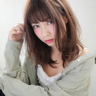 大人かわいい デジタルパーマ かわいい ガーリー ヘアスタイルや髪型の写真・画像 ヘアスタイルや髪型の写真・画像