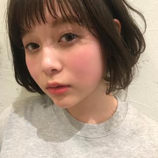 ナチュラル 大人女子 小顔 デジタルパーマ ヘアスタイルや髪型の写真・画像