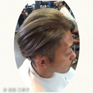 ダブルカラー 外国人風カラー ショート アッシュグレー ヘアスタイルや髪型の写真・画像