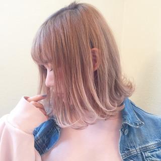 モード 小顔 デート ボブ ヘアスタイルや髪型の写真・画像