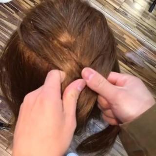 大人かわいい 簡単ヘアアレンジ ショート 夏 ヘアスタイルや髪型の写真・画像