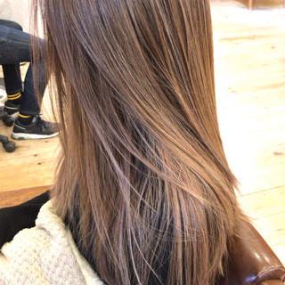 コントラストハイライト 3Dハイライト アンニュイほつれヘア 外国人風 ヘアスタイルや髪型の写真・画像