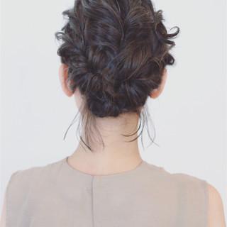 大人かわいい 涼しげ 結婚式 ヘアアレンジ ヘアスタイルや髪型の写真・画像