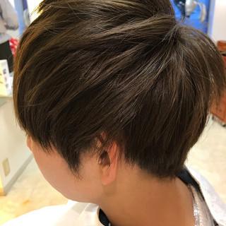 ショート 簡単ヘアアレンジ アウトドア ヘアアレンジ ヘアスタイルや髪型の写真・画像