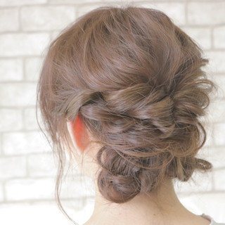 大人かわいい ガーリー セミロング フェミニン ヘアスタイルや髪型の写真・画像 ヘアスタイルや髪型の写真・画像