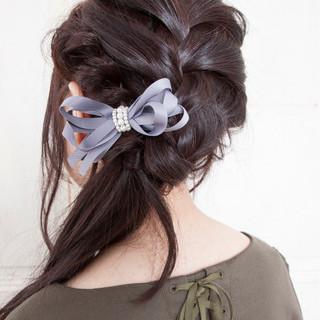 イルミナカラー セミロング ヘアアレンジ 前髪あり ヘアスタイルや髪型の写真・画像