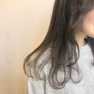 ワンカール ダブルカラー ナチュラル ハイトーン ヘアスタイルや髪型の写真・画像