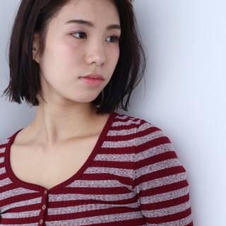 女子力 透明感 アッシュ 色気 ヘアスタイルや髪型の写真・画像