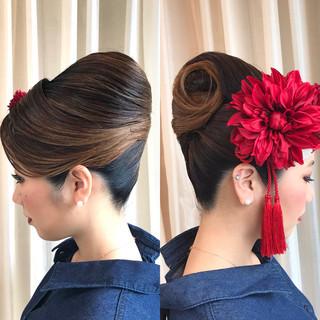 ナチュラル 成人式ヘア ロング 成人式 ヘアスタイルや髪型の写真・画像