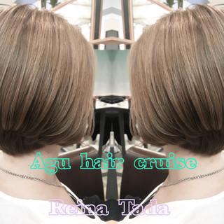 大人かわいい 大人女子 ナチュラル ショート ヘアスタイルや髪型の写真・画像