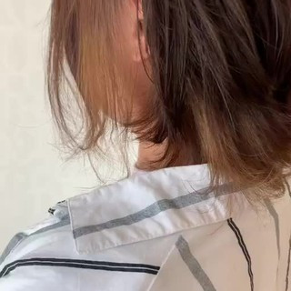 大人可愛い インナーカラー ダブルカラー ブリーチ ヘアスタイルや髪型の写真・画像