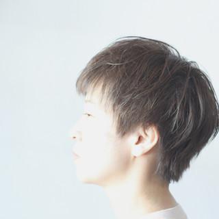ナチュラル ベリーショート ショート ハンサムショート ヘアスタイルや髪型の写真・画像