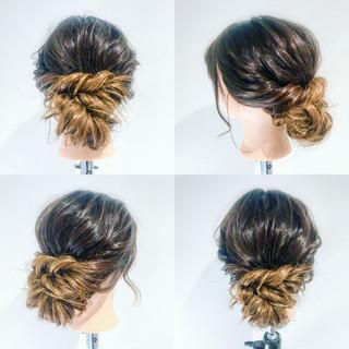 大人かわいい グラデーションカラー デート ロング ヘアスタイルや髪型の写真・画像