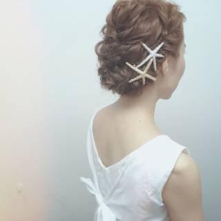 和装 モテ髪 アップスタイル ナチュラル ヘアスタイルや髪型の写真・画像