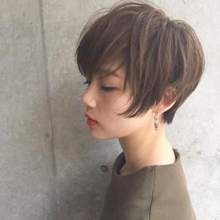 外国人風 色気 ストリート ボブ ヘアスタイルや髪型の写真・画像