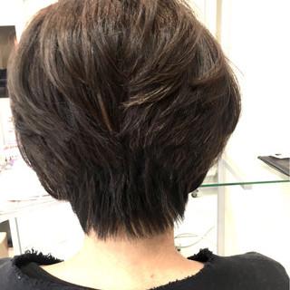 ナチュラル デート ショート ウルフカット ヘアスタイルや髪型の写真・画像 ヘアスタイルや髪型の写真・画像