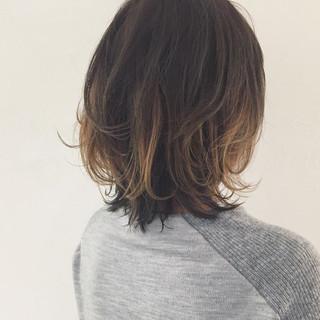 インナーカラー アッシュ パーマ ハイライト ヘアスタイルや髪型の写真・画像 ヘアスタイルや髪型の写真・画像
