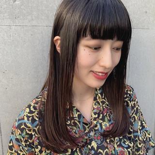 黒髪 ストリート デート アウトドア ヘアスタイルや髪型の写真・画像