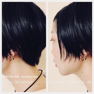 ショート 大人女子 ベリーショート ナチュラル ヘアスタイルや髪型の写真・画像