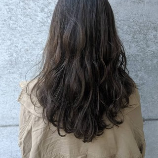 ベージュ ロング ヘアアレンジ ナチュラル ヘアスタイルや髪型の写真・画像