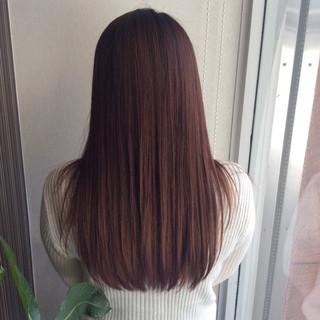 ラベンダーアッシュ ヘアカラー ラベンダーグレージュ セミロング ヘアスタイルや髪型の写真・画像
