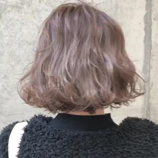 グレージュ グラデーションカラー 外国人風カラー ボブ ヘアスタイルや髪型の写真・画像 ヘアスタイルや髪型の写真・画像