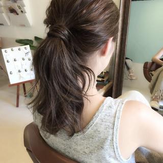 簡単ヘアアレンジ ヘアアレンジ ロング 女子会 ヘアスタイルや髪型の写真・画像