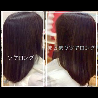 フェミニン 時短 似合わせ 艶髪 ヘアスタイルや髪型の写真・画像