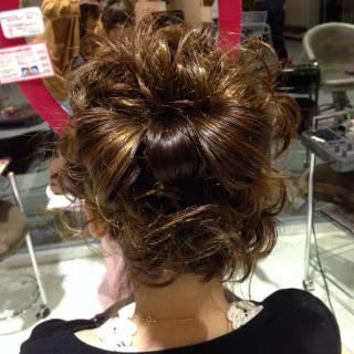ヘアアレンジ ナチュラル 卵型 モテ髪 ヘアスタイルや髪型の写真・画像