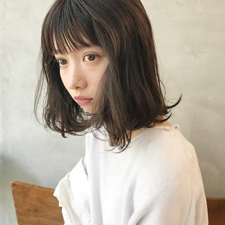 かわいい 抜け感 ナチュラル フェミニン ヘアスタイルや髪型の写真・画像