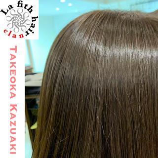 アッシュ アディクシーカラー ナチュラル ダメージレス ヘアスタイルや髪型の写真・画像