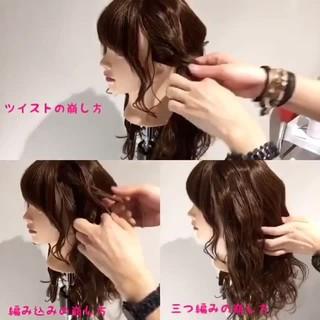 ヘアアレンジ ナチュラル ルーズ 簡単 ヘアスタイルや髪型の写真・画像 ヘアスタイルや髪型の写真・画像