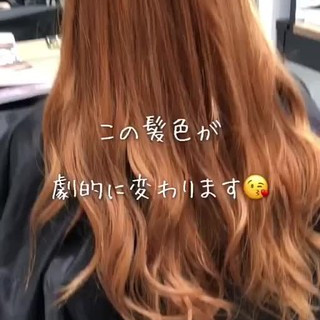ヘアアレンジ インナーカラー ロング ナチュラル ヘアスタイルや髪型の写真・画像