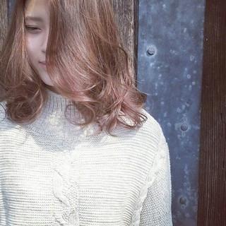 透明感 アンニュイ おフェロ ゆるふわ ヘアスタイルや髪型の写真・画像