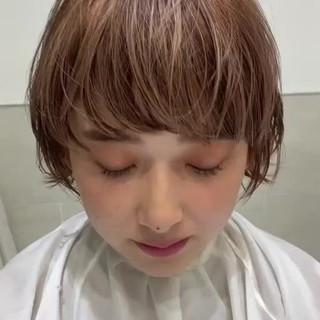 ショート 似合わせカット 阿藤俊也 PEEK-A-BOO ヘアスタイルや髪型の写真・画像