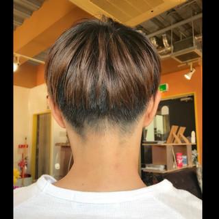 刈り上げ メンズ ストリート ボーイッシュ ヘアスタイルや髪型の写真・画像