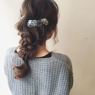 簡単ヘアアレンジ ヘアアレンジ ゆるふわ 大人女子 ヘアスタイルや髪型の写真・画像 ヘアスタイルや髪型の写真・画像