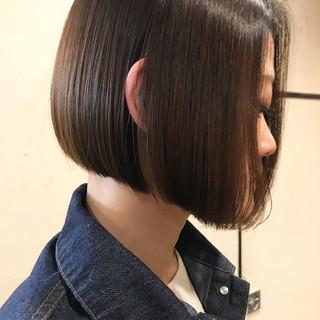 前下がりショート ショートボブ ワンレングス ボブ ヘアスタイルや髪型の写真・画像 ヘアスタイルや髪型の写真・画像