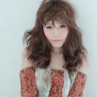 パーマ ガーリー かわいい 外国人風 ヘアスタイルや髪型の写真・画像