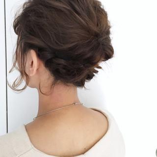 簡単ヘアアレンジ ボブ 結婚式 ショート ヘアスタイルや髪型の写真・画像 ヘアスタイルや髪型の写真・画像