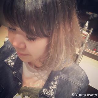 ガーリー ゆるふわ 外国人風 グラデーションカラー ヘアスタイルや髪型の写真・画像 ヘアスタイルや髪型の写真・画像