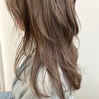 透明感カラー ナチュラル 極細ハイライト 透け感ヘア ヘアスタイルや髪型の写真・画像
