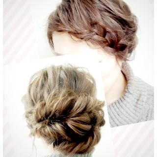 ルーズ ゆるふわ ヘアアレンジ ナチュラル ヘアスタイルや髪型の写真・画像 ヘアスタイルや髪型の写真・画像