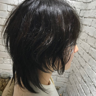 ショート ストリート ウルフカット ショートヘア ヘアスタイルや髪型の写真・画像