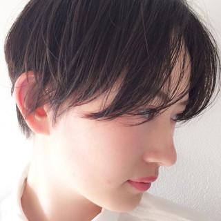 スポーツ ウェットヘア 抜け感 モード ヘアスタイルや髪型の写真・画像 ヘアスタイルや髪型の写真・画像
