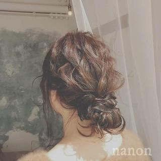 ゆるふわ フェミニン アンニュイ 冬 ヘアスタイルや髪型の写真・画像