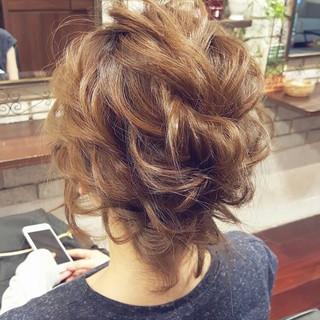 外国人風 ゆるふわ ショート ヘアアレンジ ヘアスタイルや髪型の写真・画像